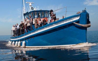 Scottish Opera's Pop-Up Tour 2017 aboard the 'Murray McDavid' Boat