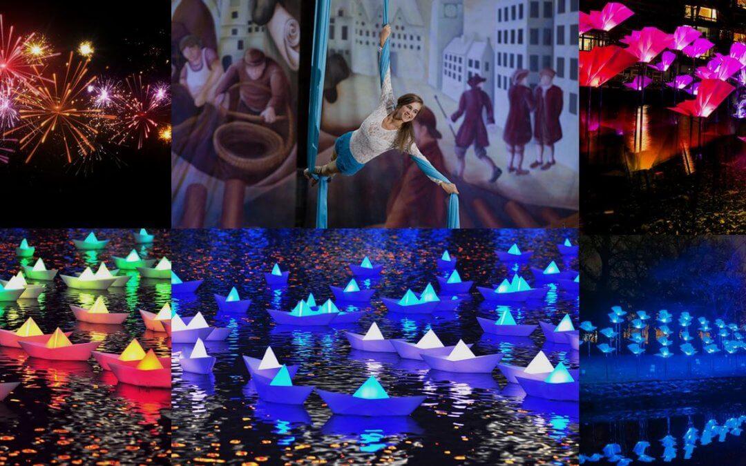 Murray McDavid joins illumination: Irvine Harbour's Festival of Light