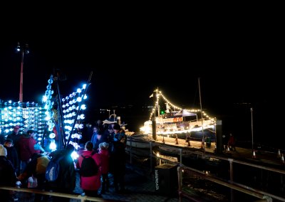 Light Sculpture and the MMD Boat