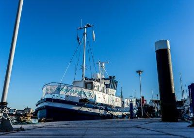 MMD Boat Frosty - Irvine Harbour