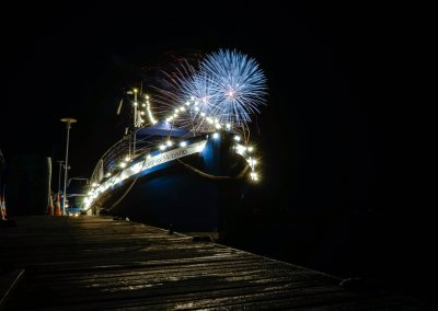 MMD Boat Under the Firework Display