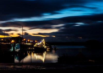 Sunset MMD Boat - Irvine Harbour